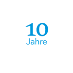 10 Jubiläum Symbol
